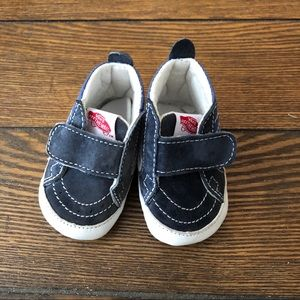 Vans Infant Crib Shoes Blue/White